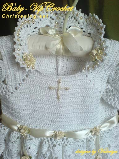 Описание: схема платья для девочки крючком.